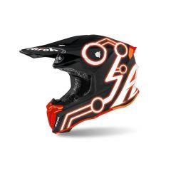 Helmet Full-Face Off-Road Airoh Twist 2.0 Neon Orange Matt