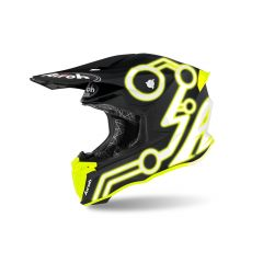 Helmet Full-Face Off-Road Airoh Twist 2.0 Neon Yellow Matt