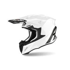 Casque Intégral Off-Road Airoh Twist 2.0 Color Blanc Brilliant