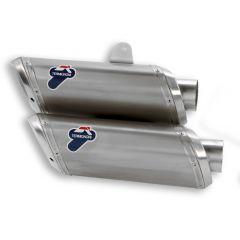 D005TO - Exhaust Mufflers Appr Termignoni Titanium Ducati STREETFIGHTER 848/1098