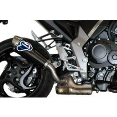 H080080CO - Exhaust Muffler Termignoni OVAL Carbon HONDA CB 1000 R (08-13)
