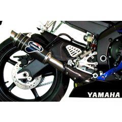 Y077080CR - Exhaust Muffler Termignoni ROUND Carbon YAMAHA R6 (06-16)