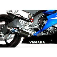 Y081080CR - Exhaust Muffler Termignoni ROUND Carbon YAMAHA R6 (06-16)