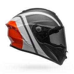 Helmet Full-Face Bell Star DLX Mips Tantrum Black White Orange