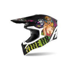 Helmet Full-Face Off-Road Airoh Wraap Pin-Up Matt