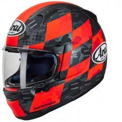 Helmet Full-Face Arai Profile-V Patch Red Black
