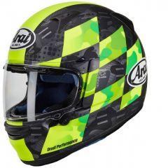 Helmet Full-Face Arai Profile-V Patch Black Fluo-Yellow