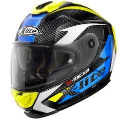 Helmet Full-Face X-Lite X-903 Ultra Carbon Nobiles 29 Black Blue Yellow