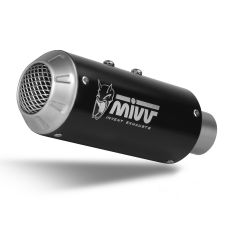 Y.021.LM3B - Exhaust Muffler MIVV MK3 Black YAMAHA YZF 600 R6 (06-16)
