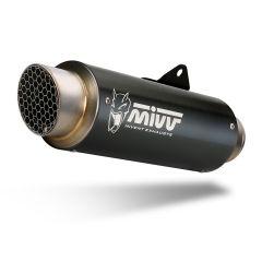 Y.063.LXBP - Exhaust Muffler MIVV GPpro Black YAMAHA YZF 600 R6 (17-)