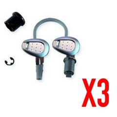 Z228A - Givi Kit de clés pour 3 valises et/ou top case, complet avec barillet