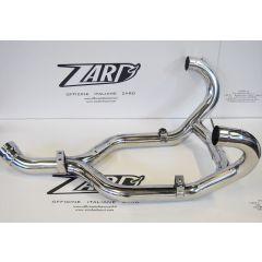 ZBMW080TCR-C - Exhaust Manifolds Zard Polished SS BMW R 1200 GS (04-09)