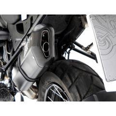 ZBMW520APR - Exhaust Muffler Zard Penta Black Aluminum BMW R 1200 GS (04-09)