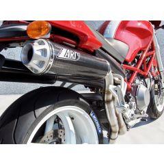 ZD024LSR-2 - Exhaust Muffler Zard HM Titanium Ducati Monster S2R
