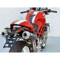 ZD028LSR-1 - Exhaust Mufflers Zard HM Carbon Ducati Monster S4RS Testastretta