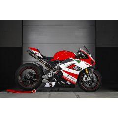 ZD1100STKR - Full Exhaust Zard DM5 Titanium/SS Ducati PANIGALE V4 (18-19)