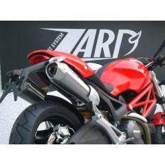 ZD115CSR - Exhaust Mufflers Zard Conical Carbon Ducati Monster 696 / 769 / 1100