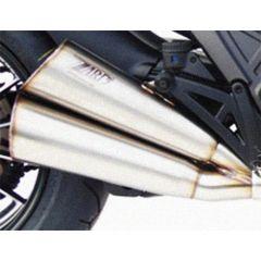 ZD117LIMTSR - Silenciador Escape Zard LE Titanio Ducati DIAVEL (11-18)