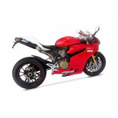 ZD1199RESIN - Kit de queue Zard Fibre de Verre Blanche Ducati 1199 Panigale