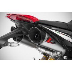 ZD127SSR - Exhaust Mufflers Zard GT Stainless Steel Ducati HYPERMOTARD 950 (19)