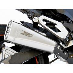 ZKAW176SSR - Exhaust Muffler Zard Short Stainless Steel Kawasaki Z 800 E (12-16)