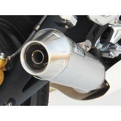ZTPH512SSO - Exhaust Muffler Zard Conical SS Triumph Street Triple 675